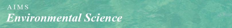 AIMS Environmental Science