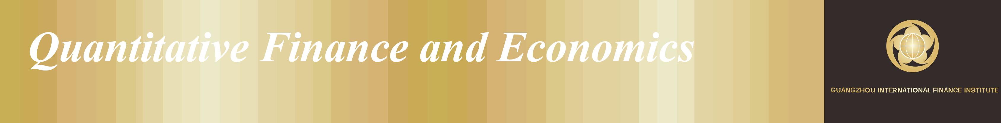 Quantitative Finance and Economics - Open Access Journals
